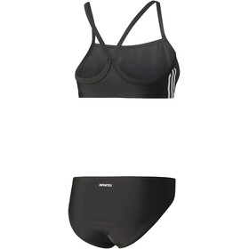 adidas Essence Core 3-Stripes Bikini Set Women black/white